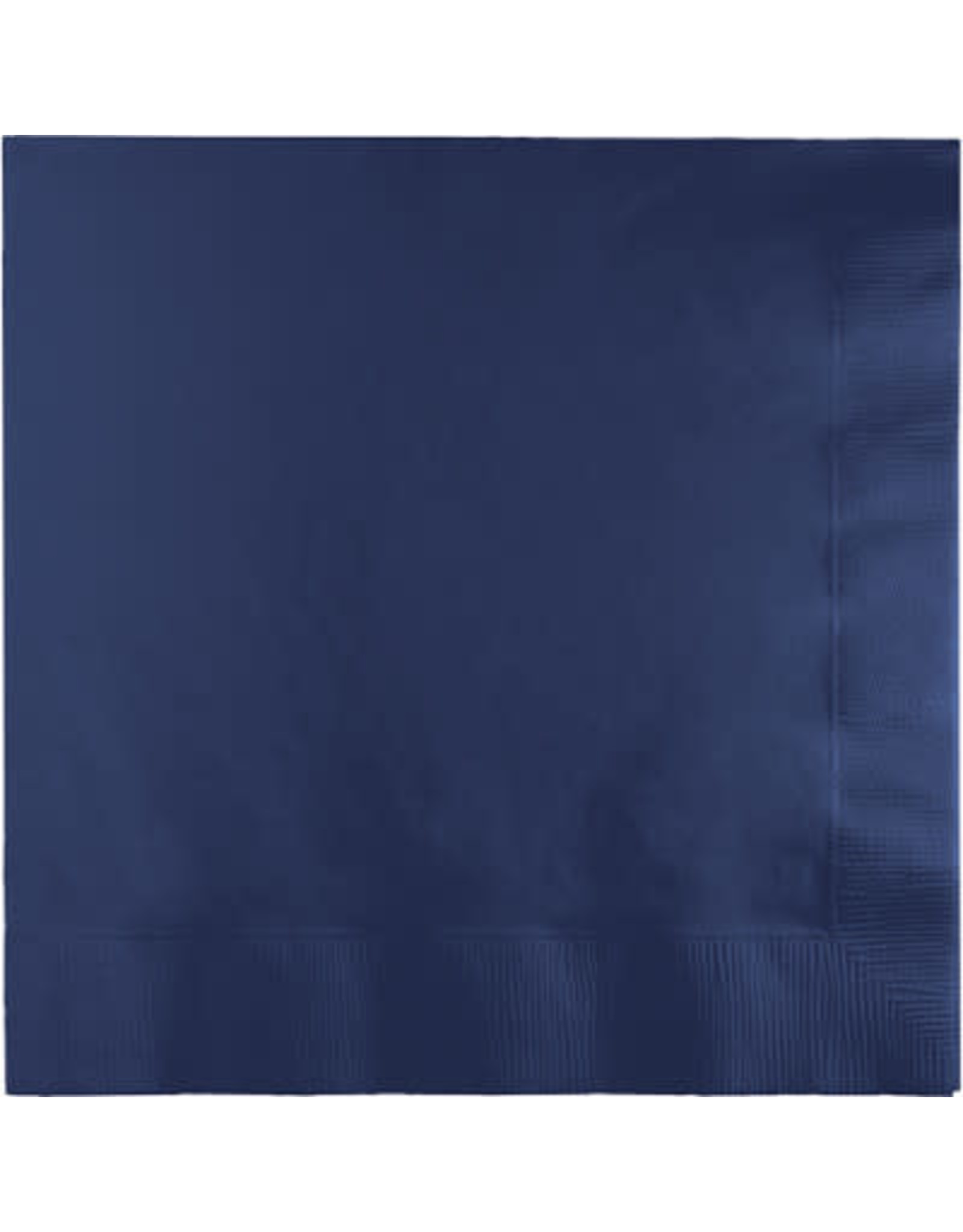 Touch of Color NAVY BLUE LUNCH NAPKINS