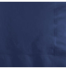 Touch of Color NAVY BLUE BEVERAGE NAPKINS