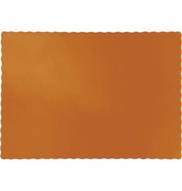 Touch of Color PUMPKIN SPICE ORANGE PLACEMATS