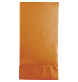 Touch of Color PUMPKIN SPICE ORANGE GUEST TOWELS