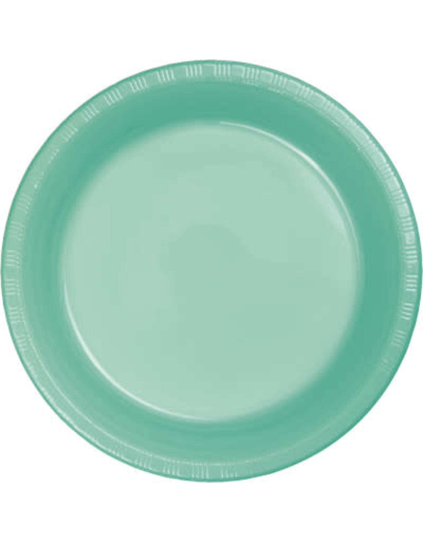 Touch of Color FRESH MINT GREEN PLASTIC BANQUET PLATES