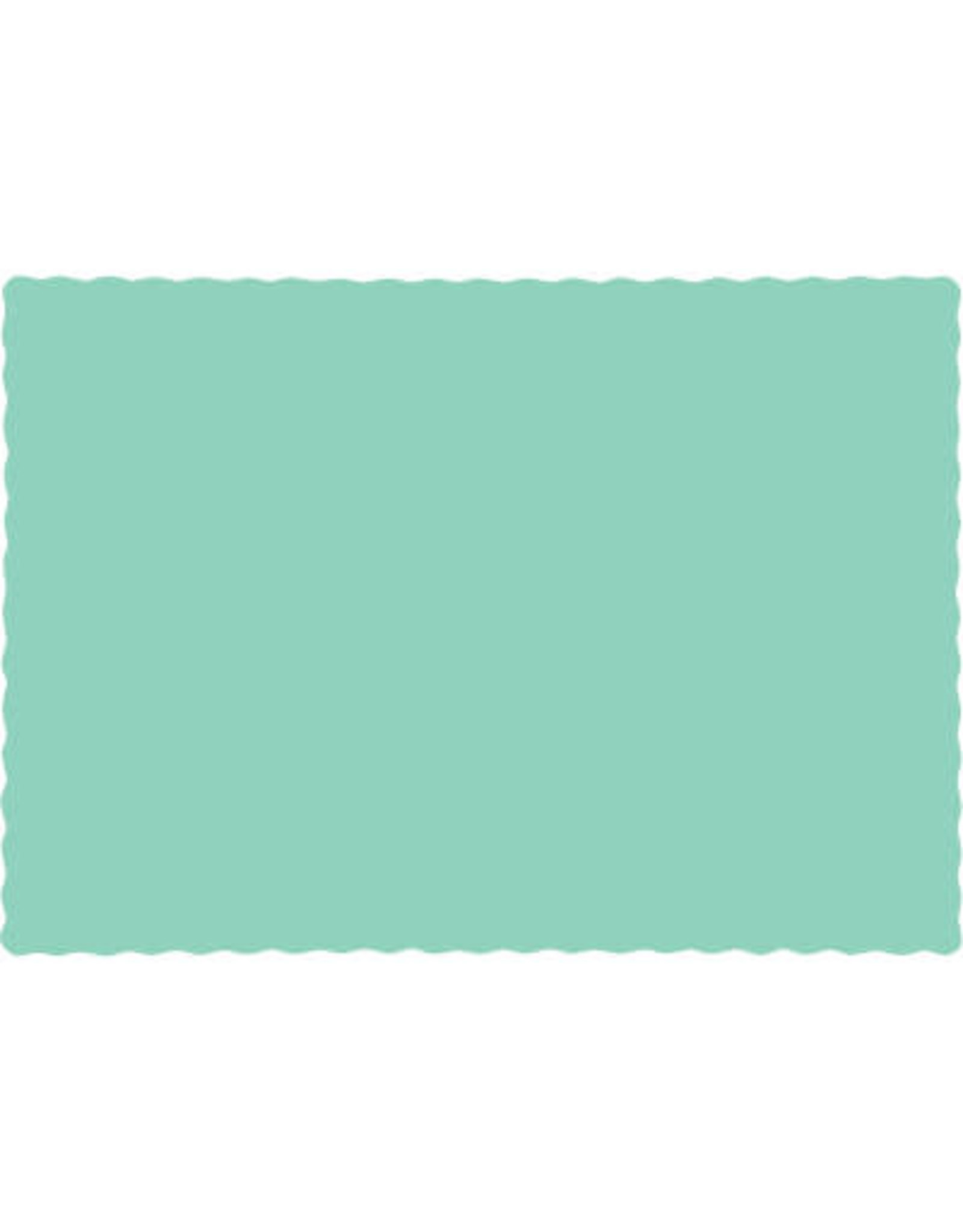 Touch of Color FRESH MINT GREEN PLACEMATS