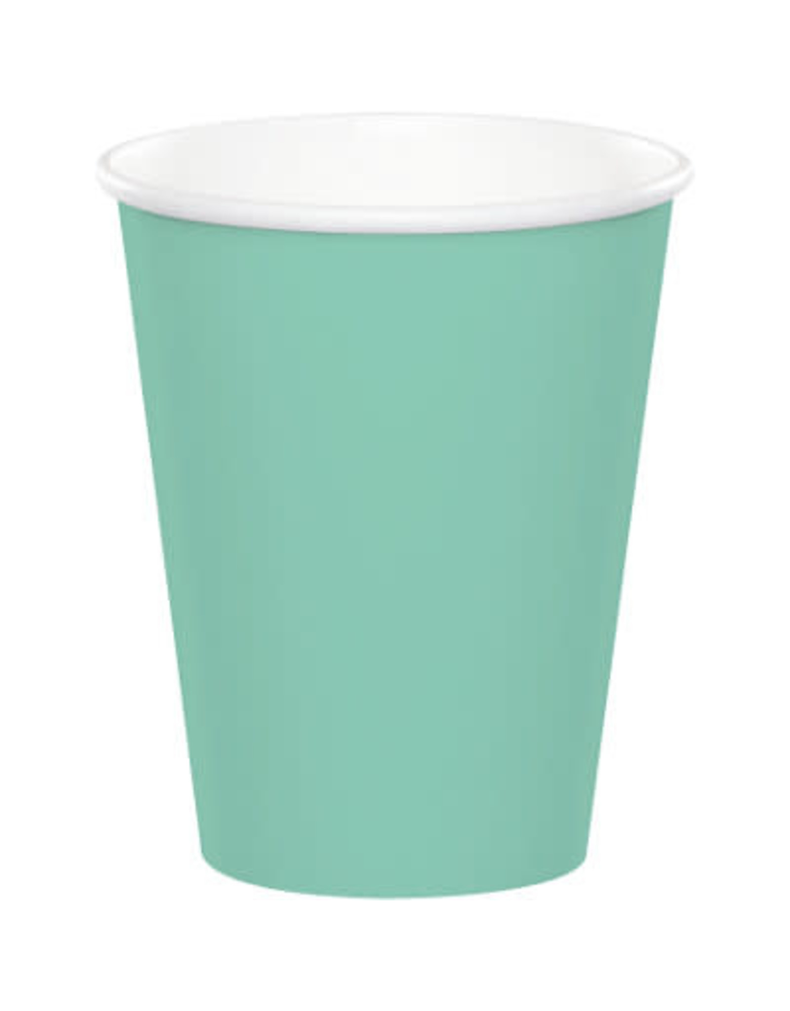 Touch of Color FRESH MINT GREEN CUPS 9OZ