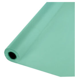 Touch of Color FRESH MINT GREEN PLASTIC BANQUET ROLL