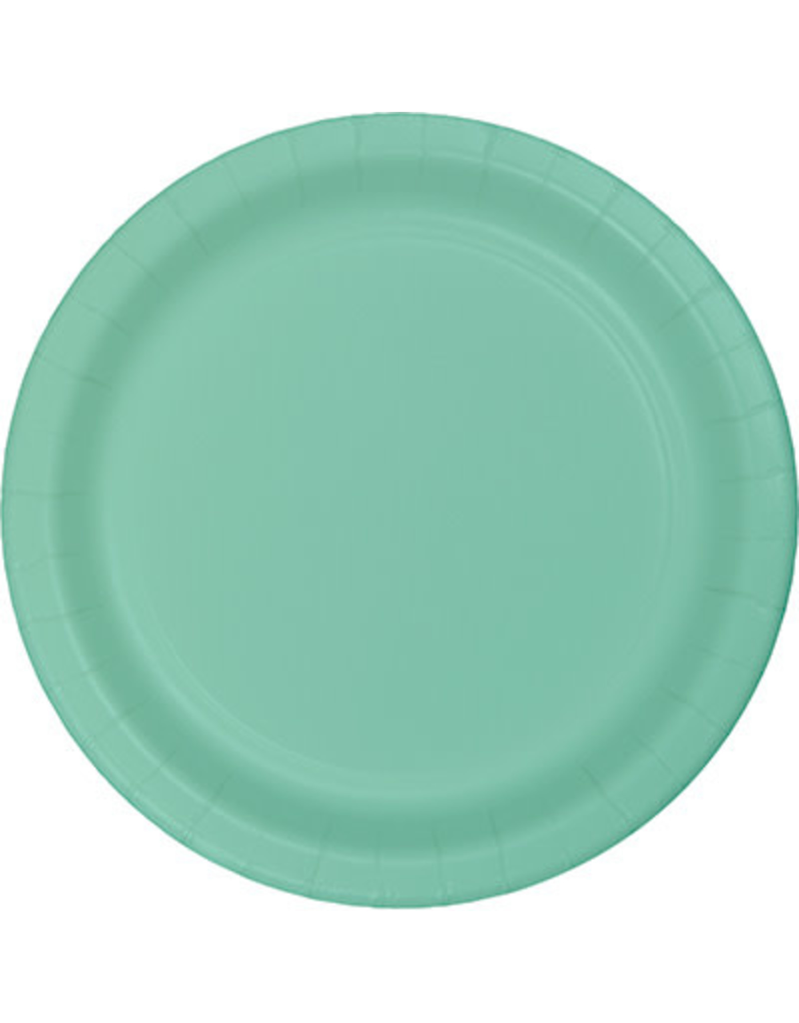 """Touch of Color 10"""" Fresh Mint Paper Banquet Plates - 24ct."""