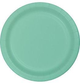 "Touch of Color 10"" Fresh Mint Paper Banquet Plate"