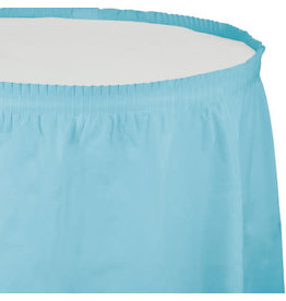 Touch of Color Pastel Blue Tableskirt - 14ft.