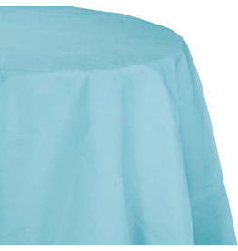 Touch of Color PASTEL BLUE OCTY ROUND PAPER TABLECLOTH