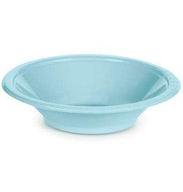 Touch of Color PASTEL BLUE 12 OZ PLASTIC BOWLS
