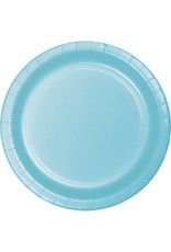 "Touch of Color 10"" Pastel Blue Paper Banquet Plate"