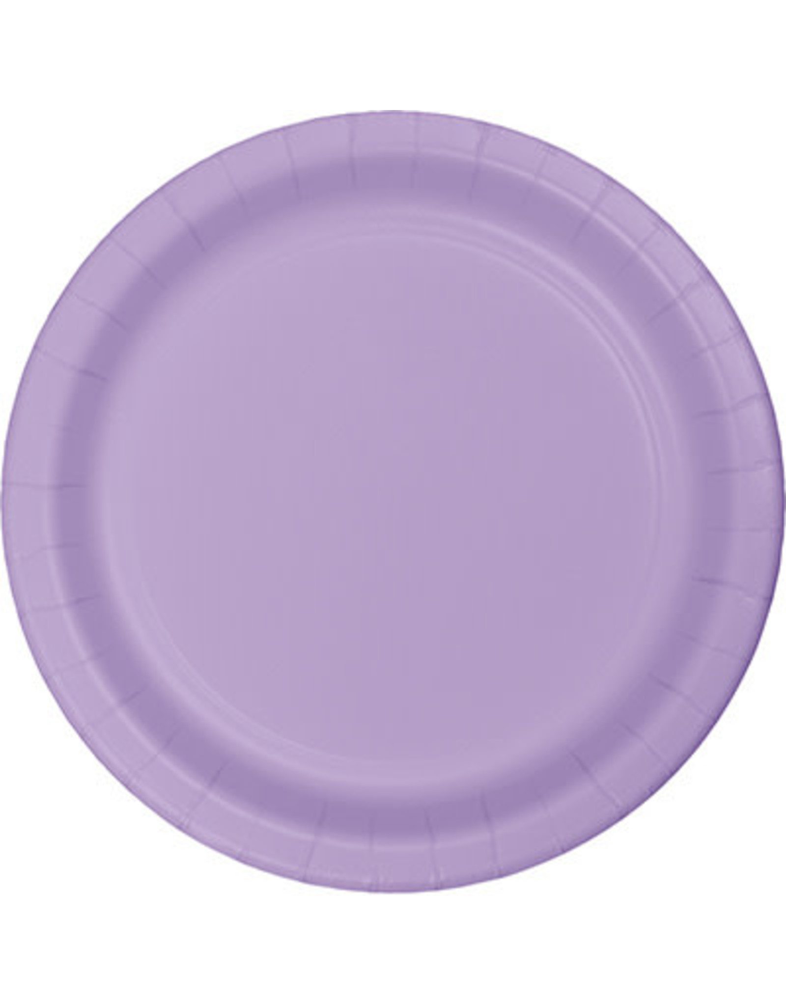 "Touch of Color 10"" Luscious Lavender Paper Banquet Plate"