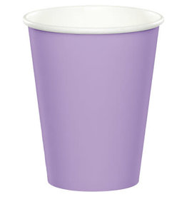 Touch of Color LUSCIOUS LAVENDER CUPS 9OZ