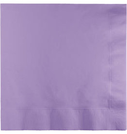 Touch of Color LUSCIOUS LAVENDER LUNCH NAPKINS