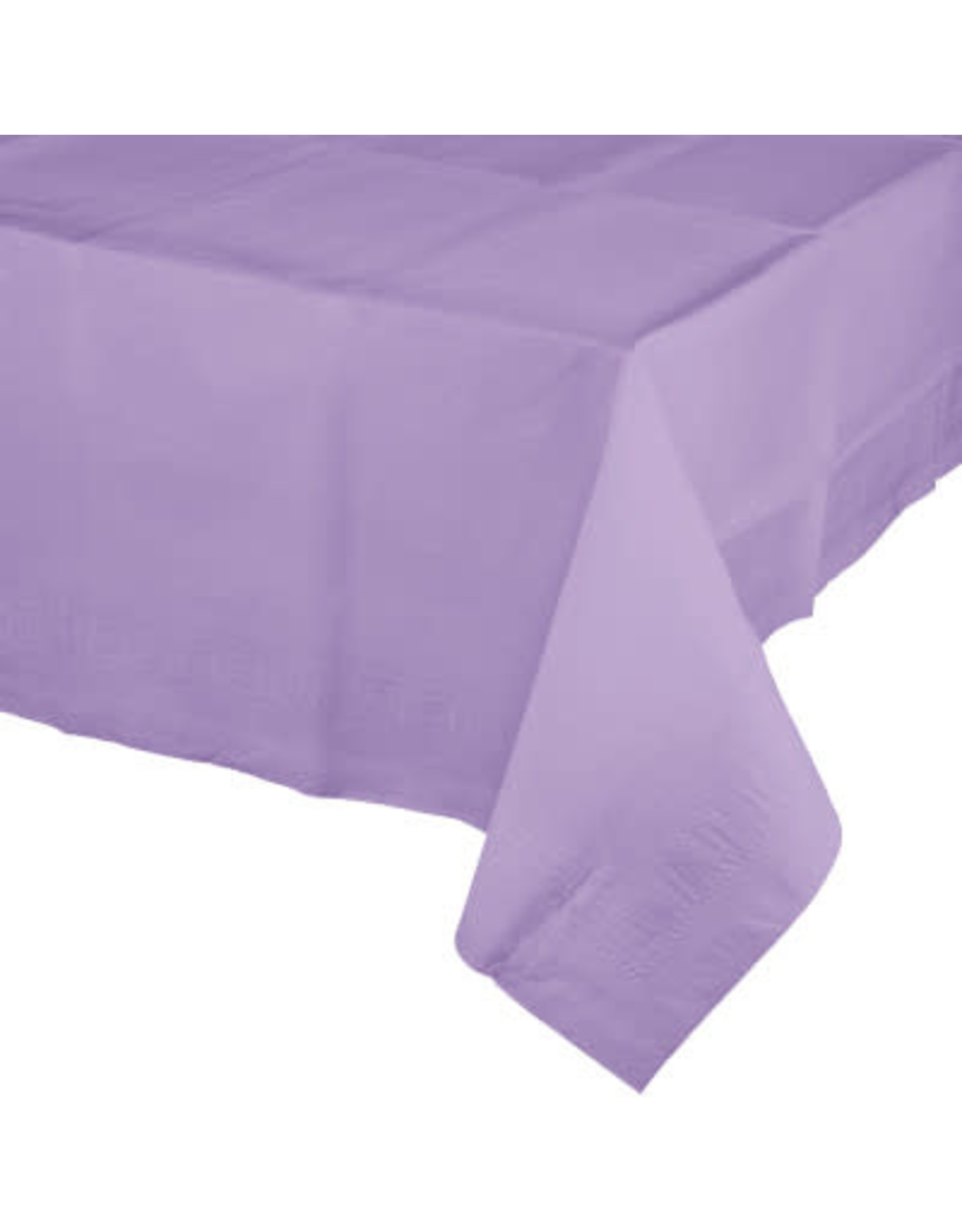 Touch of Color LUSCIOUS LAVENDER PAPER TABLECLOTH