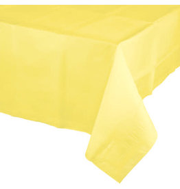 Touch of Color MIMOSA YELLOW PAPER TABLECLOTH