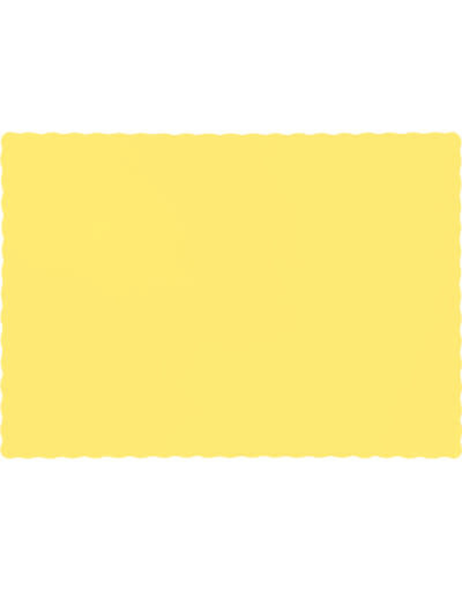 Touch of Color MIMOSA YELLOW PLACEMATS