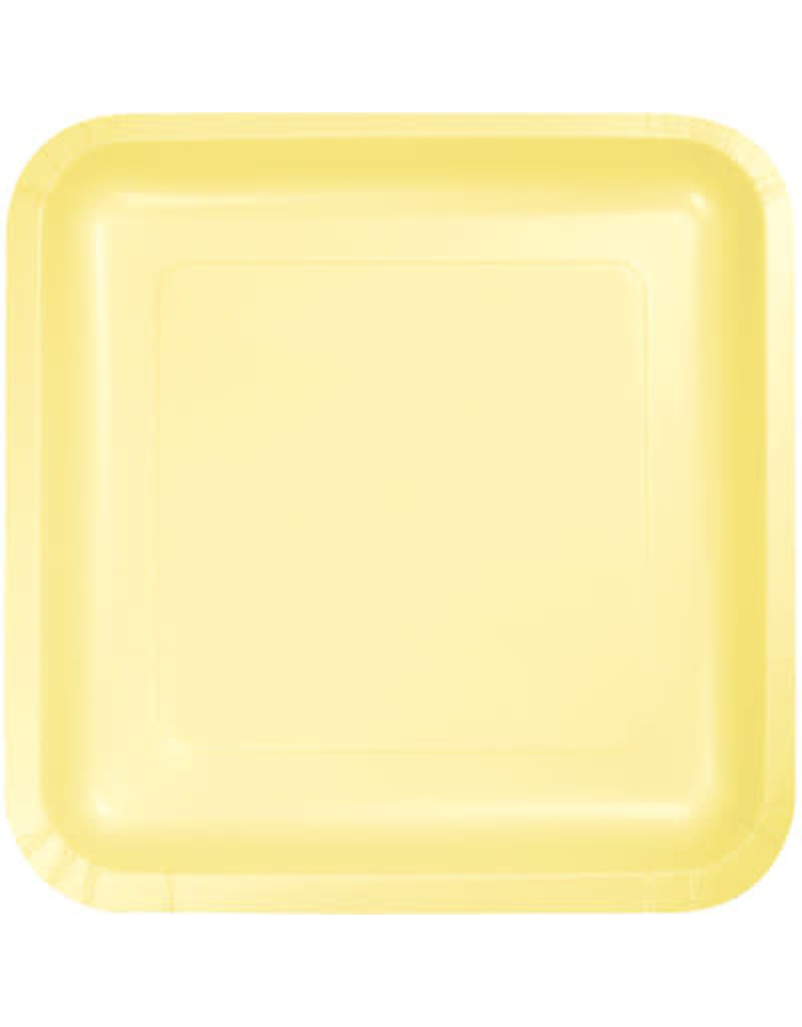 Touch of Color MIMOSA SQUARE DESSERT PLATES