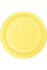 """Touch of Color 10"""" Mimosa Paper Banquet Plate"""