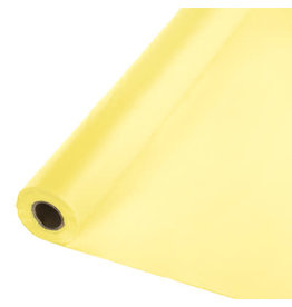 Touch of Color MIMOSA YELLOW PLASTIC BANQUET ROLL