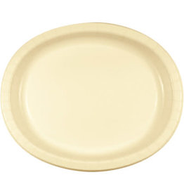 Touch of Color IVORY OVAL PLATES