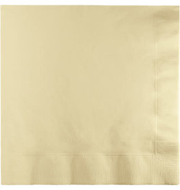 Touch of Color IVORY LUNCH NAPKINS