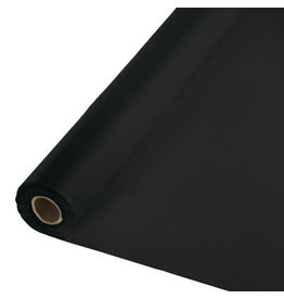 Touch of Color BLACK PLASTIC BANQUET ROLL