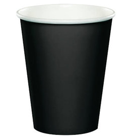 Touch of Color BLACK CUPS 9OZ