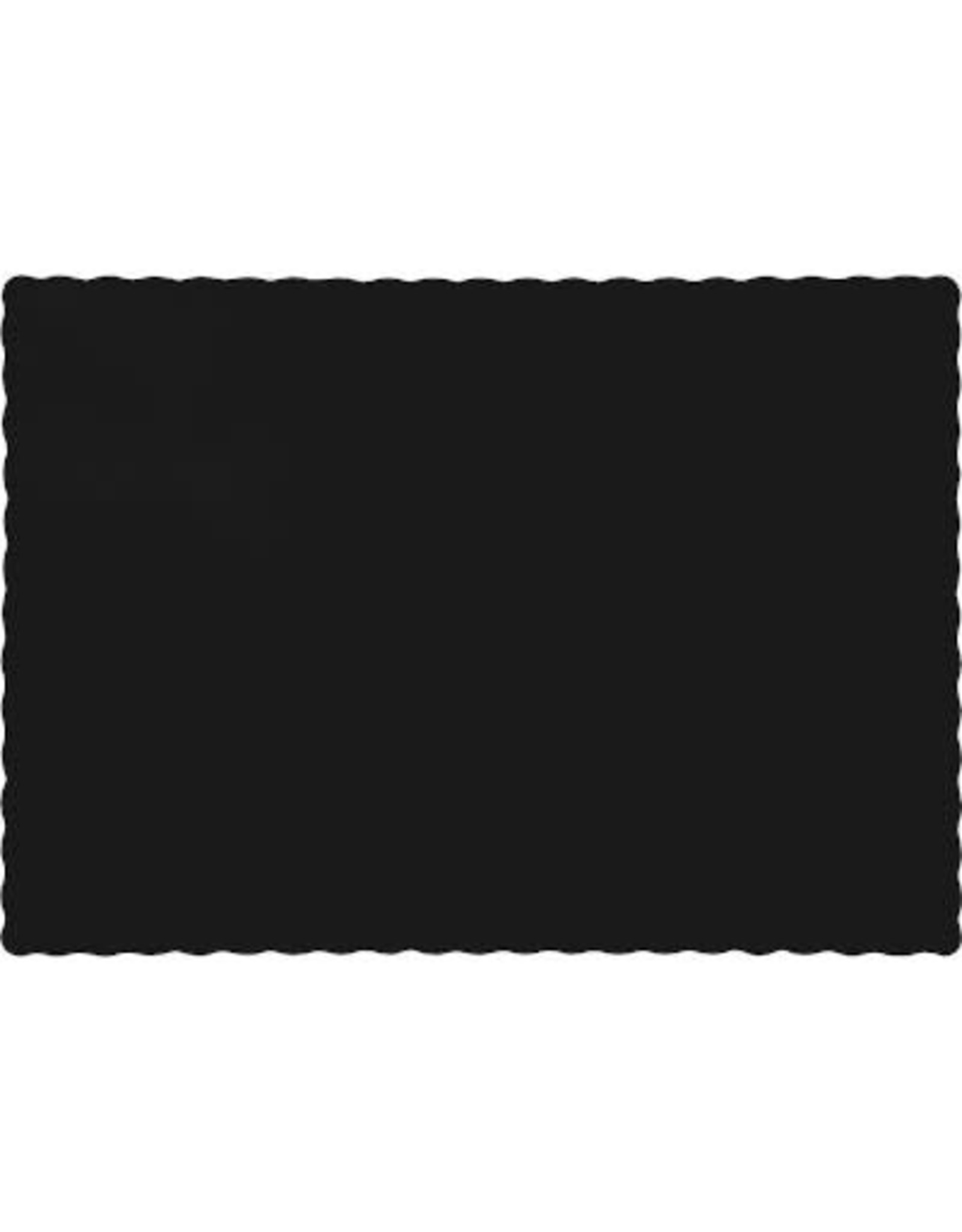 Touch of Color BLACK PLACEMATS