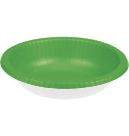 Touch of Color FRESH LIME GREEN PAPER BOWLS