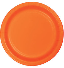 Touch of Color SUNKISSED ORANGE DESSERT PLATES