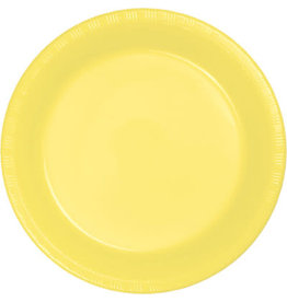 """Touch of Color Mimosa Yellow 7"""" Plates"""