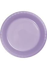 Touch of Color LUSCIOUS LAVENDER PURPLE DESSERT PLATES
