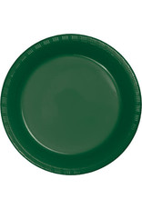 Touch of Color HUNTER GREEN DESSERT PLATES