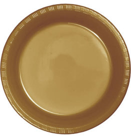 Touch of Color GLITTERING GOLD DESSERT PLATES