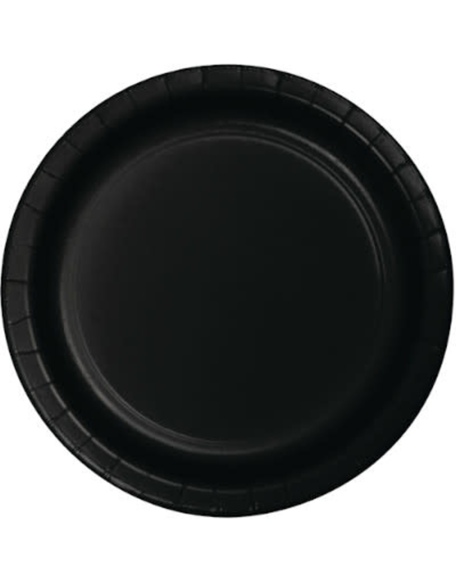 Touch of Color BLACK DESSERT PLATES