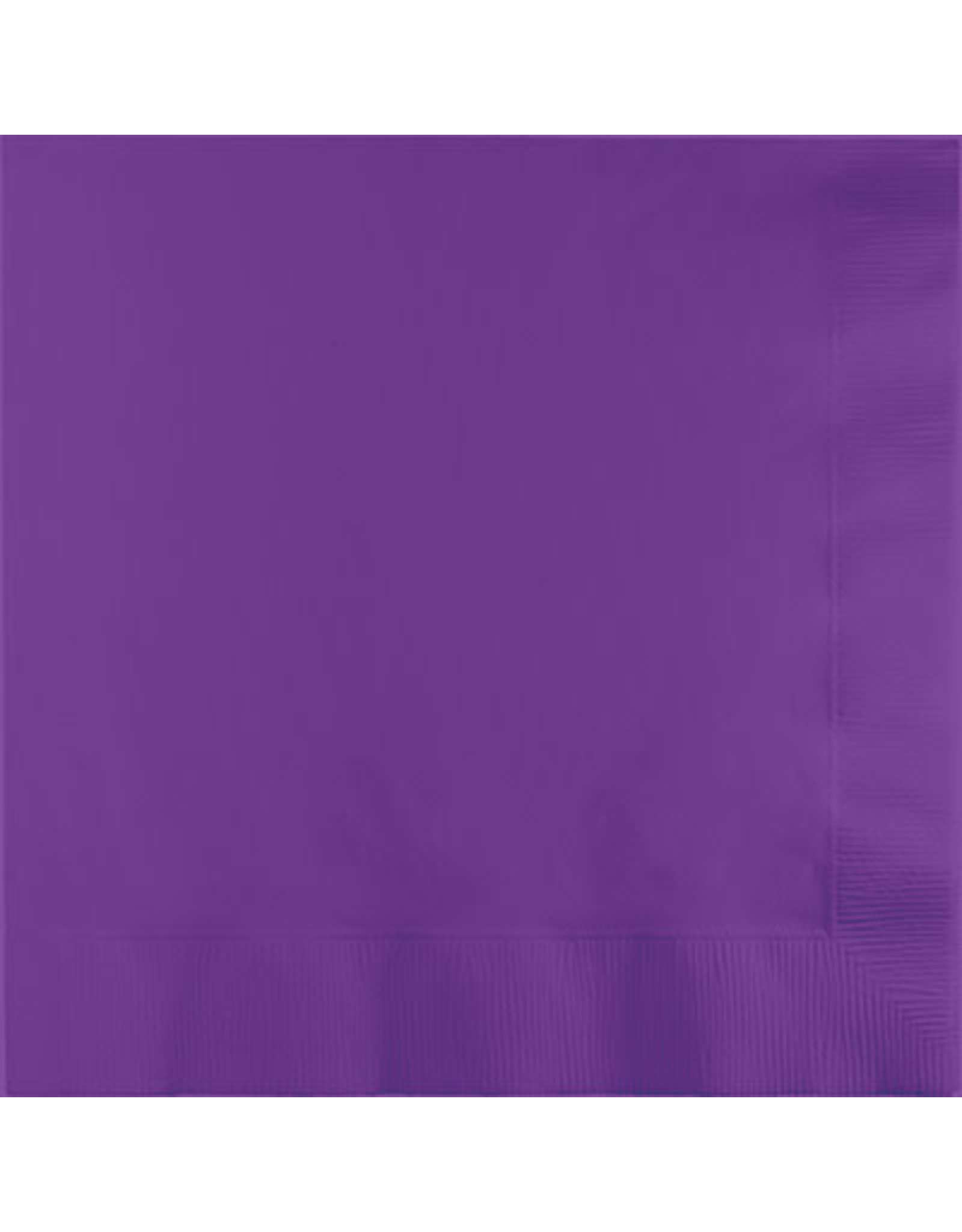 Touch of Color Dinner Napkins 3Ply Amethyst