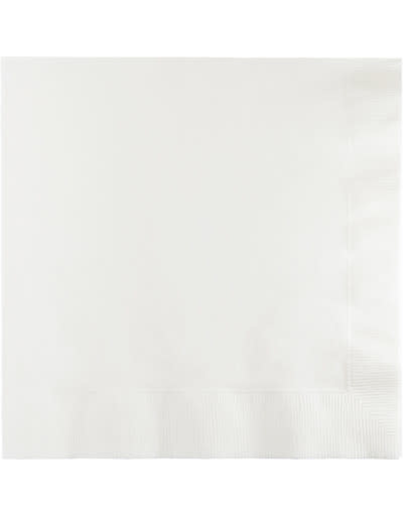 Touch of Color Dinner Napkins 3Ply White