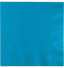Touch of Color Dinner Napkins 3Ply Turquoise