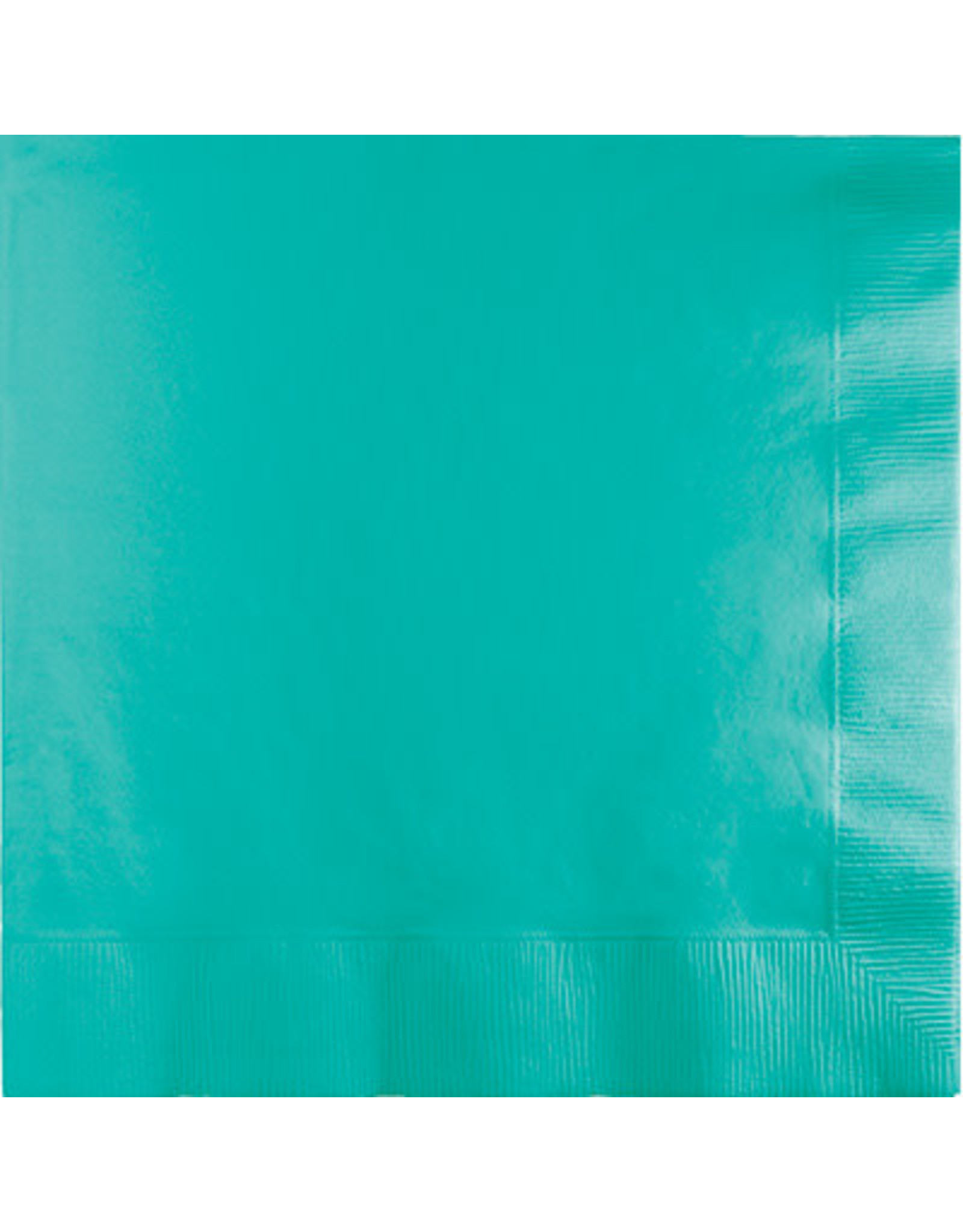Touch of Color Dinner Napkins 3Ply Teal lagoon