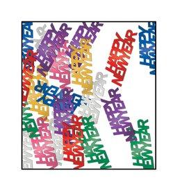 Beistle Multi-Color Happy New Year Confetti