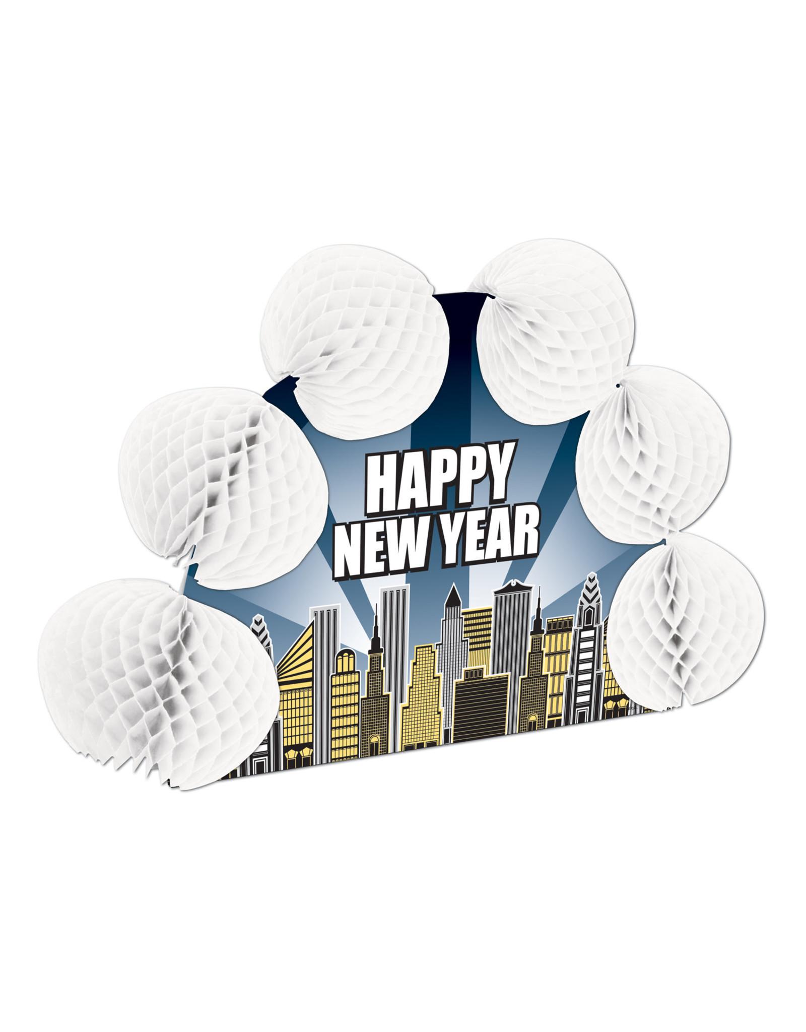 Beistle Happy New Year 3-D Centerpiece