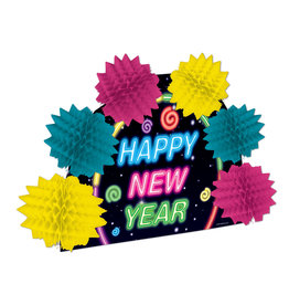 Beistle Happy New Year 3-D Centerpiece