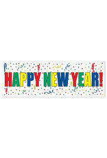 Beistle Happy New Year Sign Banner