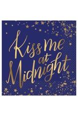Amscan Kiss Me At Midnight Beverage Napkin