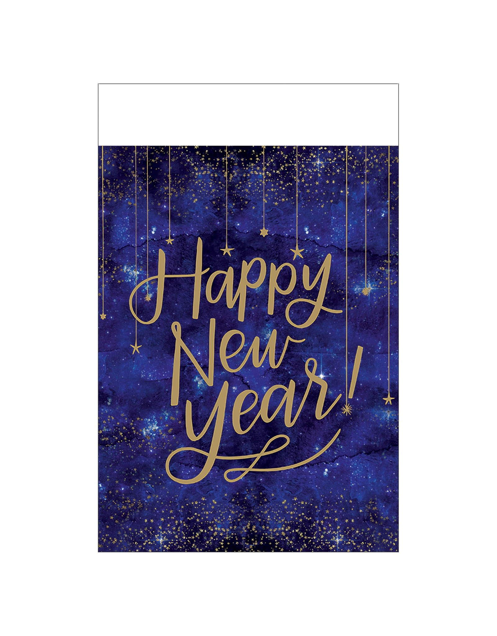 Amscan Midnight New Years Eve Table Cover