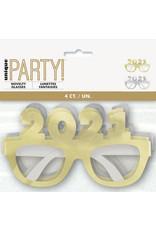 unique 2021 Party Glasses 4ct.