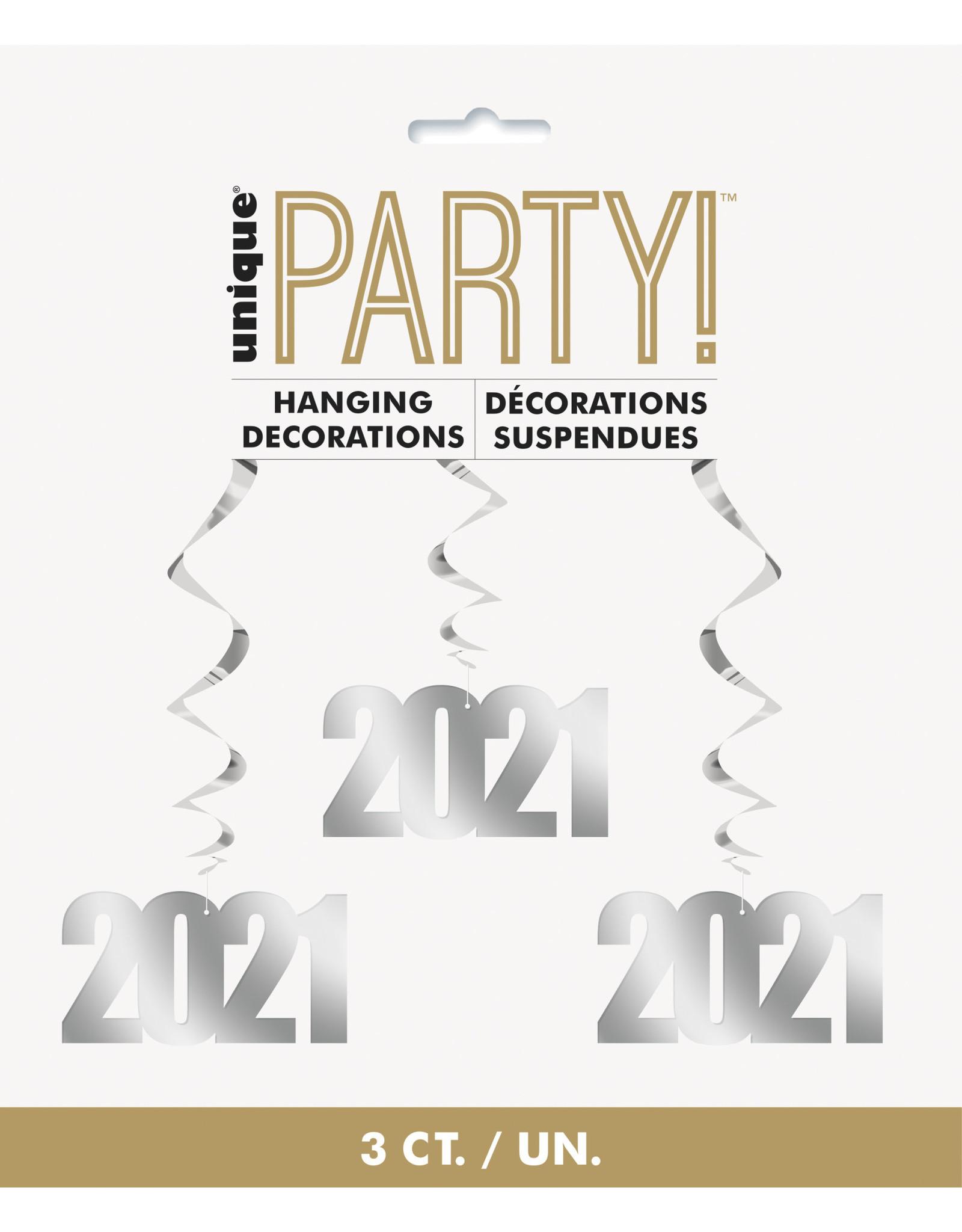 unique 2021 Hanging Decorations - 3ct