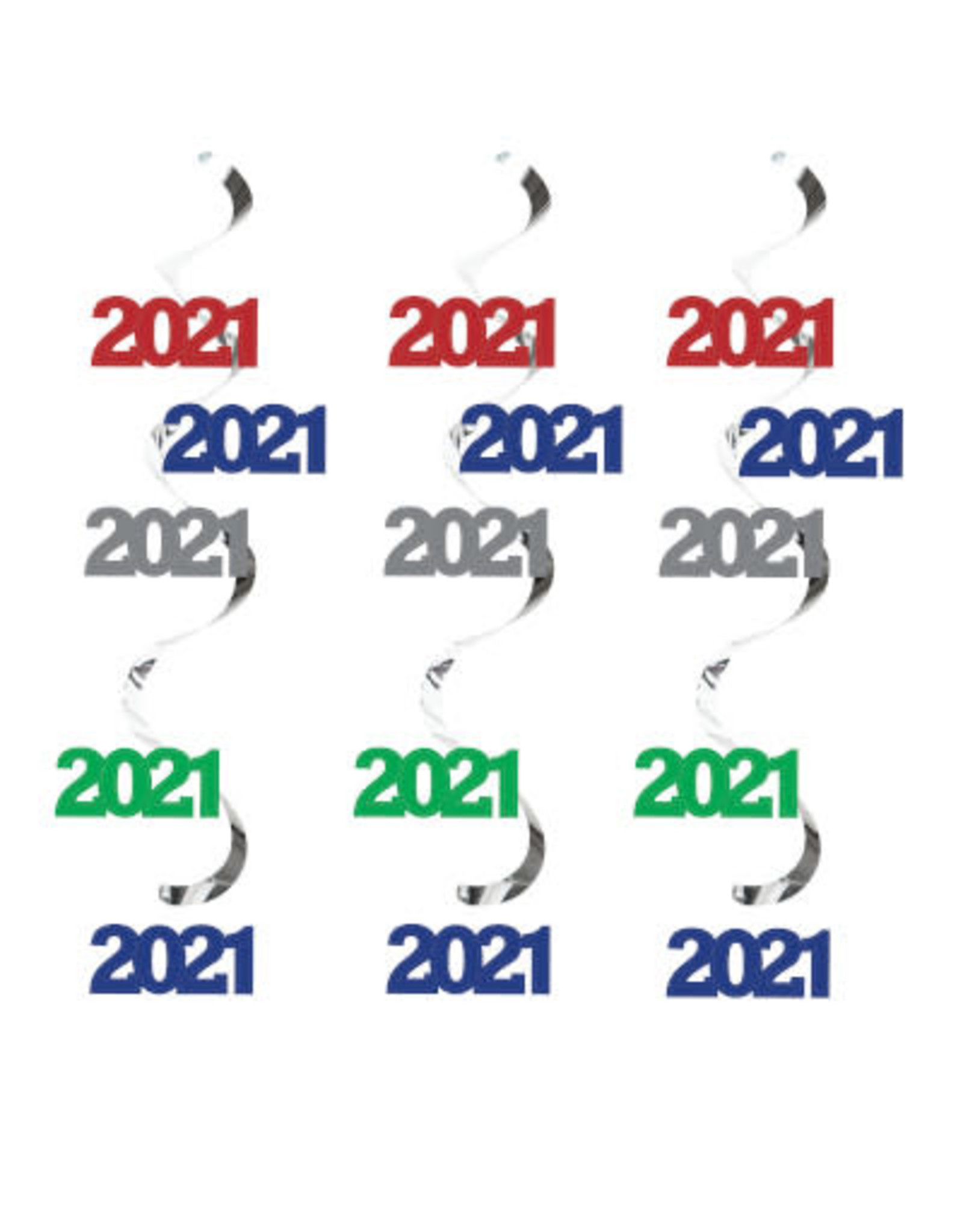 creative converting 2021 Dizzy Danglers Decoration