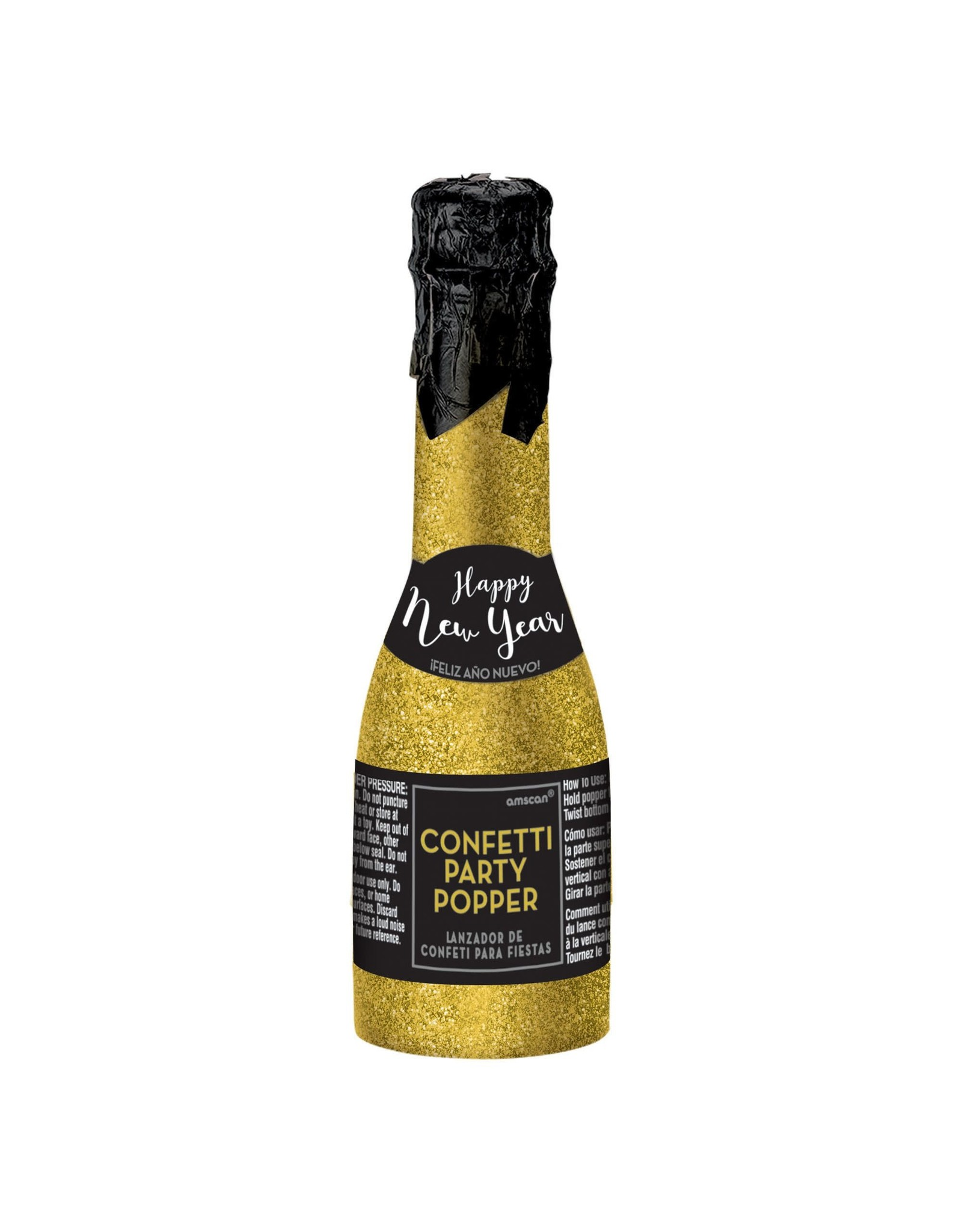 Amscan Champagne Bottle Party Popper