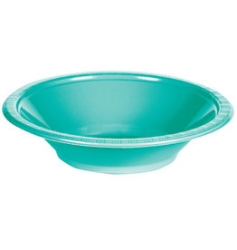 Touch of Color TEAL LAGOON PLASTIC BOWLS